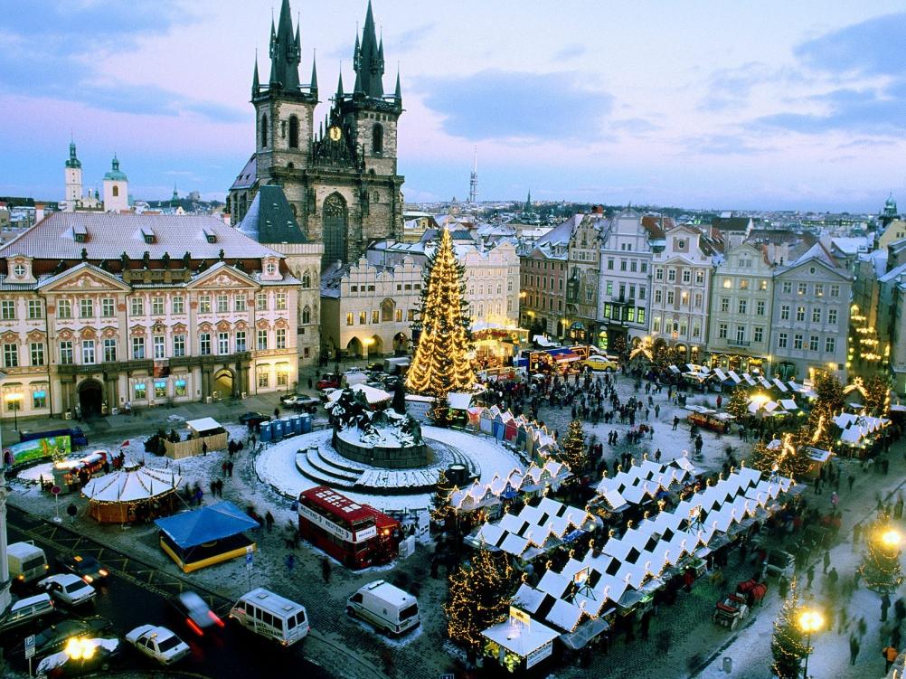 Предколедна Прага - Братислава - Будапеща - Виена
